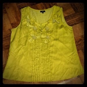 Talbots Floral Tank Top